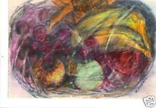 """""""FRUIT BASKET"""" by RUTH FREEMAN COLOR PENCIL  7"""" X 10"""""""