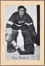 Terry Sawchuk 1944-1963 Beehive Group II Photos - Detroit Red Wings
