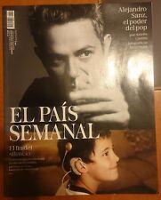 """Alejandro Sanz. Revista """"El País Semanal"""". El Disco. Más. Sirope. No CD DVD."""