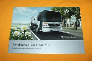Mercedes Econic NGT 2005 Prospekt Truck Brochure Camion Catalogue