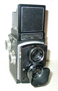 ROLLEI ROLLEICORD II MODEL 4 6X6 TLR KAMERA MIT TRIOTAR 3,5/75 OBJEKTIV 1939-49