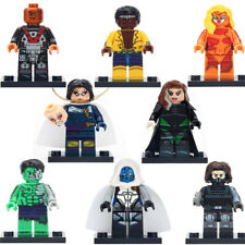Exodus Minifigure Electrocutioner Rogue Luke Cage Figure Custom Lego Minifigures