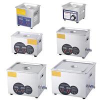 2L 3L 6L 15L Industry Digital Heated Ultrasonic Cleaner Heater Timer Bath Tank