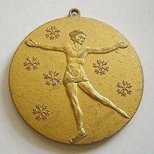 g247 1928 Winter Olympic Games ST MORITZ – rare version medal