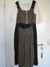Kleid Dopino R.S.Landhausmode Dirndl Oktoberfest Braun Creme Schwarz Schürze