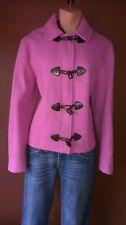 EDEIS Wool Blend Pink Pea Coat, size 10,