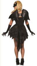 Black Bat Wings Adult Halloween Costume Accessory Dark Angel Demon Vampire Devil