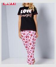 Studio Love Yourself Slogan Pyjamas Size 12/14