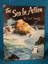 83 The Sea in Action Ear Daniels Walter Foster Painting Instruction Book