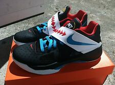 DS NIKE ZOOM KD 4 IV BLACK N7 AWAY SZ 10.5 aunt pearl v vi vii *FAST SHIPPING*