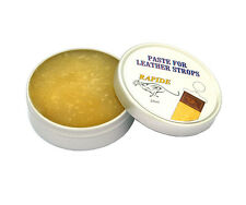 LEATHER STROP SOFTENER YELLOW PASTE BALM CREAM STRAP FOR CUT THROAT RAZOR  25ml