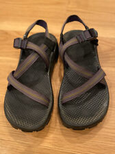 VINTAGE CHACO SPORT SANDALS ~ W Sz 10 ~ Made In USA ~ Great Condition ~ Purple