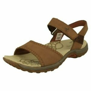 Ladies Merrell Strappy Summer Sandals Hibiscus