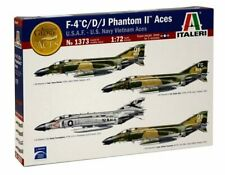 Italeri 1/72 Scale F-4 C/D/J Phantom II Aces Plastic Model Kit 1373 ITA1373