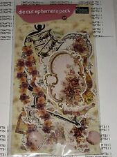 COUTURE CREATIONS DIE CUT EPHERMERA PACK FOR FLORAL SCRAPBOOK CARDS - CO724395
