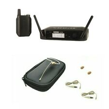 Shure Glxd14 Digital Wireless Bodypack System & Osp Hs09 Tan Earset Headset Mic