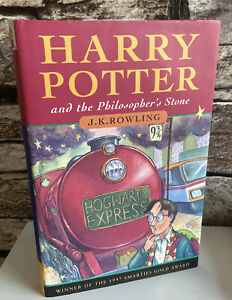 Harry Potter Philosopher's  Stone First Edition 3rd Print 1st RARE BOOK
