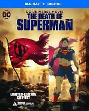 DC Universe The Death of Superman Limited Edition Blu-Ray Download Mini-Figure