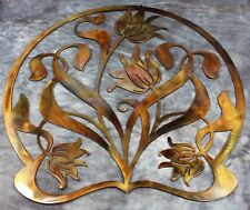 Ornamental Floral Art Metal Decor/Tulips