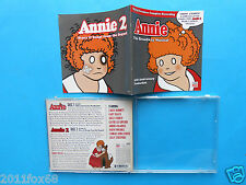 2 cds annie the broadway musical annie 2 carol burnett gary beach rare cd 2008 f