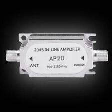 Satellite Inline Amplifier Signal Booster Dish Network Antenna EH