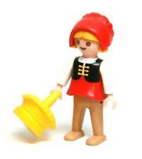 Playmobil Figure Little Red Riding Hood Medieval Peasant Girl Bonnet Basket 4562