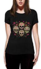 Dia De Muertos Día De Los Muertos T-shirt de Mexicana Tatuaje azúcar Calavera Regalo
