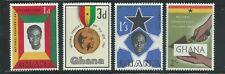 Ghana Scott # 124-127 MNH Founder's Day