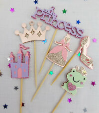 Cupcake Toppers-Princess themed