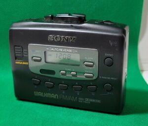 Vintage Sony WM-FX405 Cassette Player Walkman FM/AM Radio Mega Bass Tested