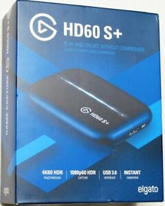 Elgato HD60 S+ Capture Card1080p60 HDR10 C apture 4K60 HDR10