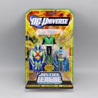 DC Universe Justice League MARTIAN MANHUNTER&GUY GARDBER&BATMAN 3 Action Figures
