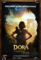 DORA Lost City of Gold Original 2019 Australian Advance One Sheet Movie Poster
