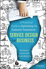 New *Sealed* Service Design for Business by Ben Reason Hardcover Book (English)