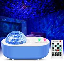 Star Projector Night Light, Galaxy Projector Lamp with Sky Ocean Wave
