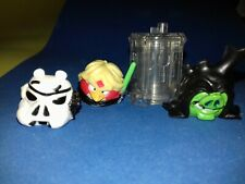 Angry Birds Star Wars Telepods figures x3 - luke stormtrooper