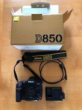 Nikon D850 Digital SLR Camera Body 45.7MP 4K FX-format, fast ship.