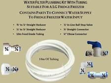 LG Fridge Freezer Water 10 METRE Filter Pipe Tubing Hose Connection Kit