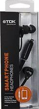 TDK Smartphone Headphones IP150 Earphones With Microphone - Black