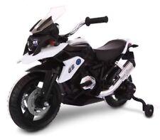Moto Motocicletta Elettrica per Bambini   MOTO Flower GS 12V BIANCO