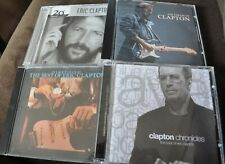 Eric Clapton - 4 CD lot (Cream Of, Chronicles, Time Pieces & Millennium Colltn)