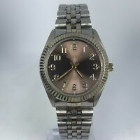 Prestige by Waltham Mens PIM183M Gruen Two Tone Stainless Steel Band Watch