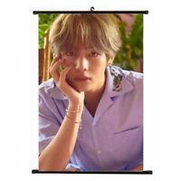 Kpop Bangtan Boys V 5th Album Love Yourself Hanging Painting Art Poster
