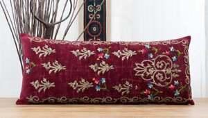 """Bindalli Pillow Cover Lumbar Pillow 14.57"""" x 33.86"""" OLD FAST Shipment UPS 12079"""