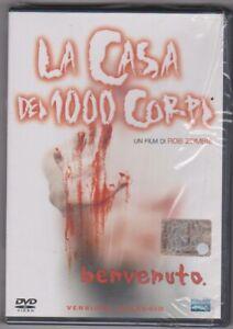 La casa dei 1000 corpi - Fuori Catalogo - ( Versione Noleggio ) dvd sigillato