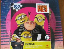Childrens Cardinal 100pc Puzzle DESPICABLE ME 3