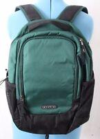 "OGIO Evader 17"" Laptop School Travel Tablet iPad Case Tech Backpack Green Black"