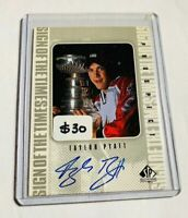 TYLER PYATT - 1998-99 SP AUTHENTIC - SIGN OF THE TIMES - AUTOGRAPH