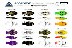Predatek Jabberwok 110mm Crawling Surface Fishing Lure