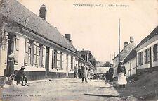CPA -  62 ( Pas de Calais )  TOURNEHEM, La Rue Broukerque.